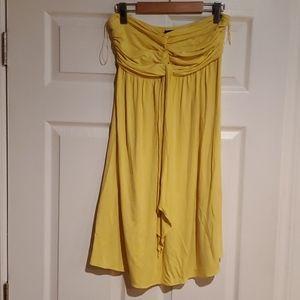 Stretchy strapless dress